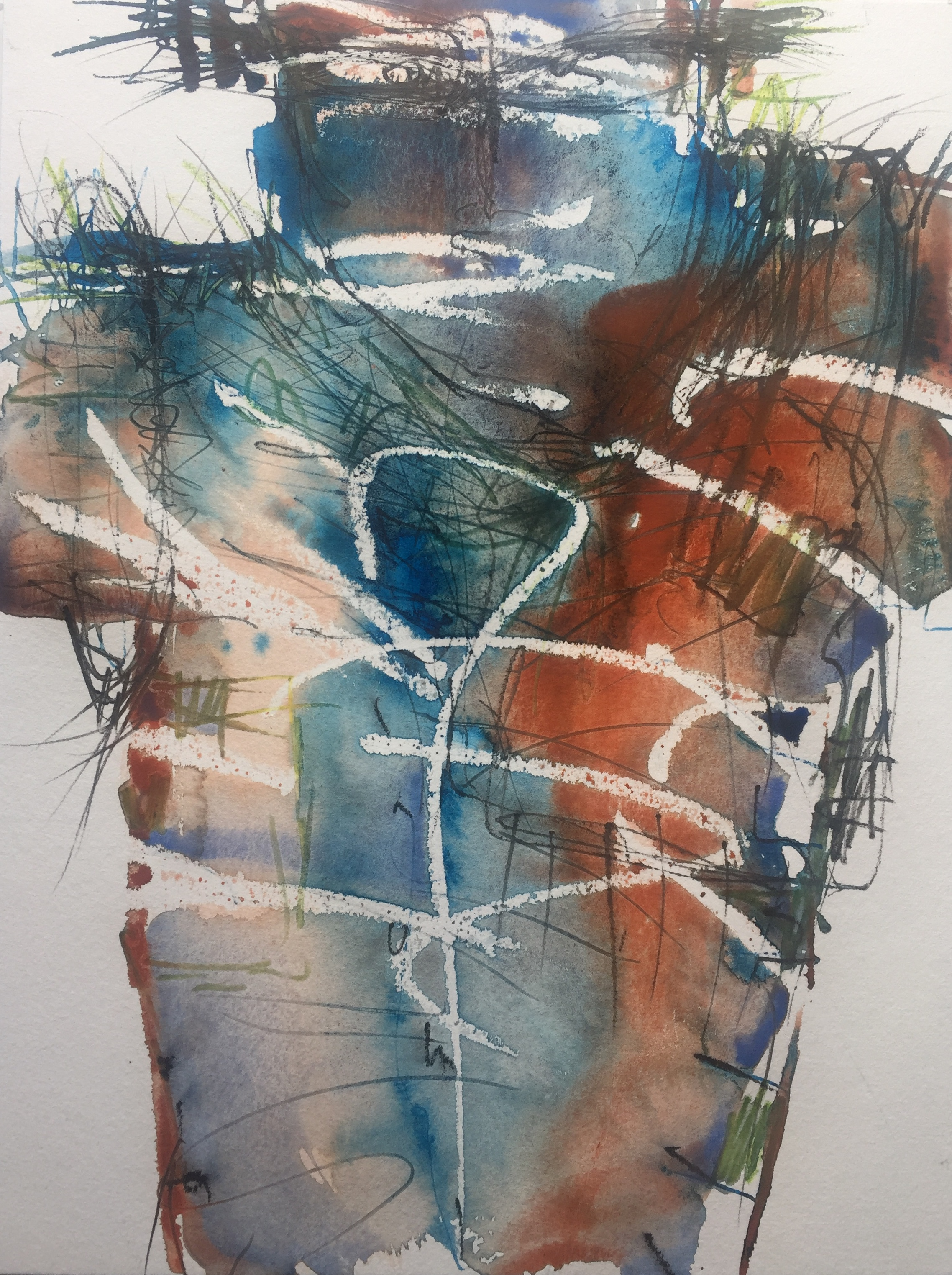 Bodylandscapes, Mixed Media