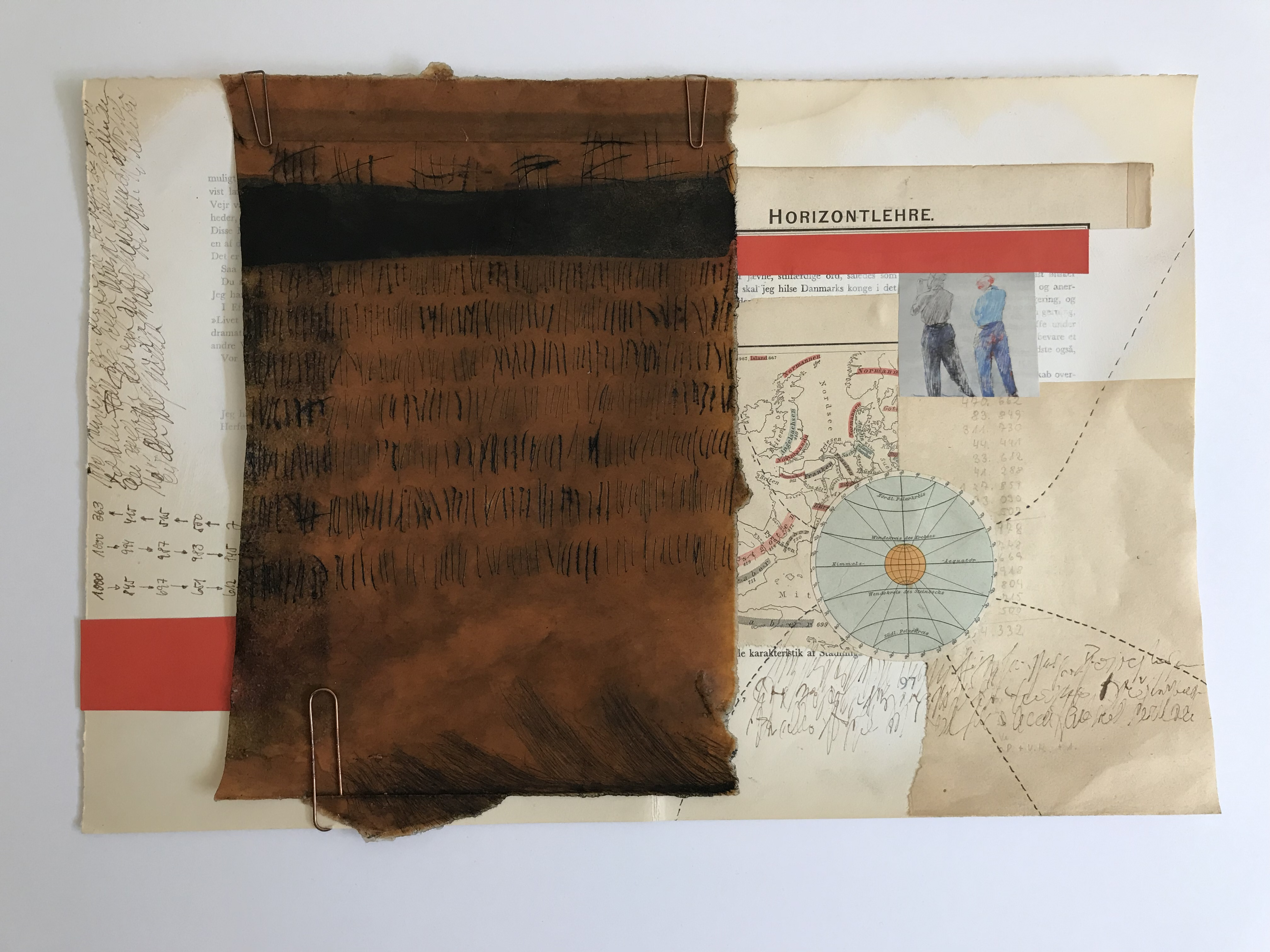 Kalender, Mixed Media, Collage